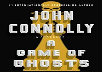 A Game of Ghosts: A Charlie Parker Thriller (John Connolly)