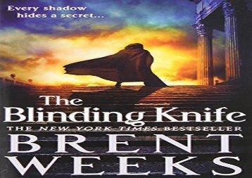 The Blinding Knife (Lightbringer) (Brent Weeks)