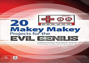 20 Makey Makey Projects for the Evil Genius (Aaron Graves)