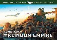 Hidden Universe Travel Guides: Star Trek: The Klingon Empire (Dayton Ward)