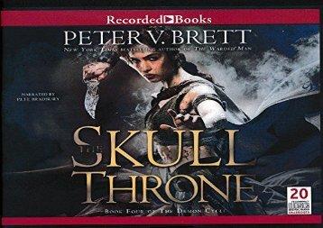 The Skull Throne (Peter V. Brett)