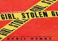 Girl, Stolen: A Novel (April Henry)