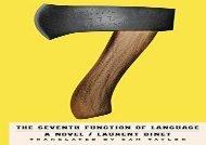 The Seventh Function of Language: A Novel (Laurent Binet)