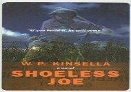 Shoeless Joe (W P Kinsella)