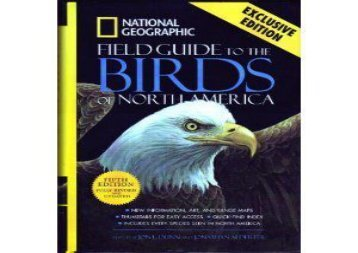National Geographic Field Guide to the Birds of North America ()