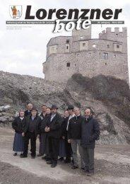 Lorenzner Bote - Ausgabe März 2007 (2,25 MB
