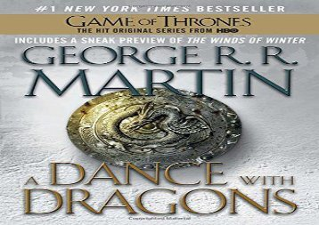 A Dance with Dragons: A Song of Ice and Fire: Book Five (George R. R. Martin)