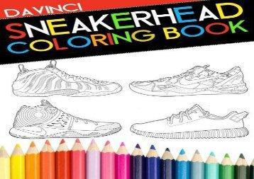 Sneakerhead Coloring Book Davinci
