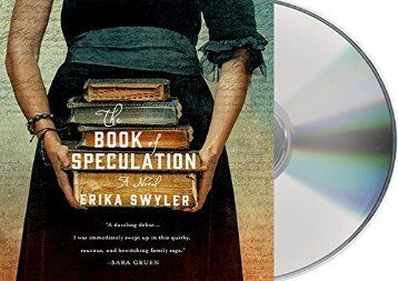 The Book of Speculation: A Novel (Erika Swyler)