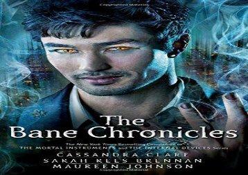 The Bane Chronicles (Cassandra Clare)