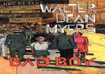 Bad Boy: A Memoir (Walter Dean Myers)