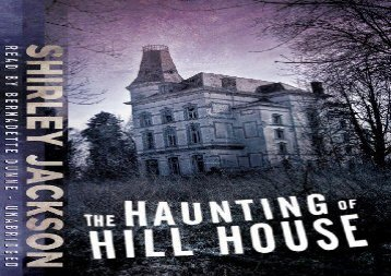 The case of a haunted hou the haunting of hill house shirley jackson fandeluxe Choice Image