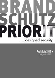Preisliste 2012 - Priorit