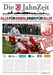 alle für einen, einer für alle! - SSV Jahn Regensburg