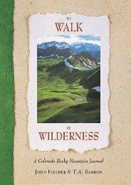 To Walk in Wilderness