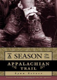 A Season on the Trail: An American Odyssey (Official Guides to the Appalachian Trail)