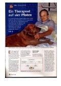 Therapeut auf vier Pfoten - Tiere begleiten Leben Schweiz - Seite 5
