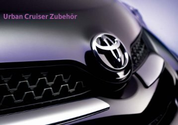 für Ihr Auto - Toyota