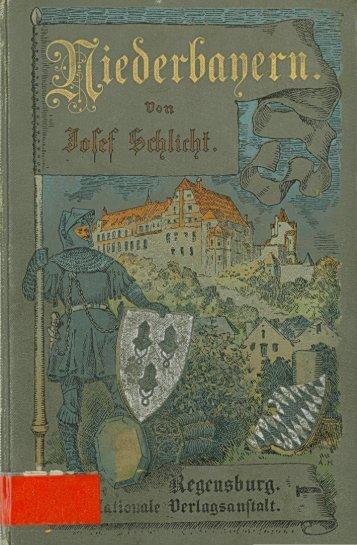 Niederbayern - in der Staatlichen Bibliothek Passau