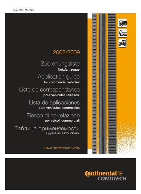 Correas trapezoidales Conti avx13x1625