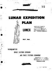 LUNAR EXPEDITION PLAN