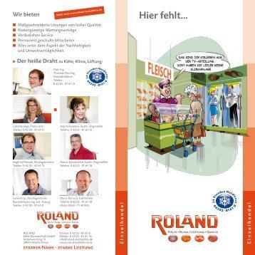 pdf 770 kb - ROLAND Kälte Klima Fachbetrieb