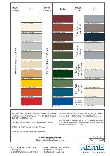 Farbkarte pdf