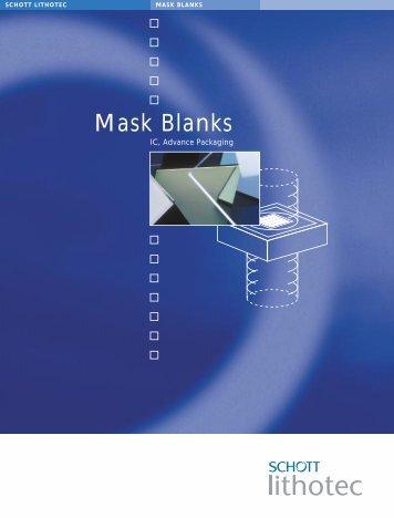 Mask Blanks