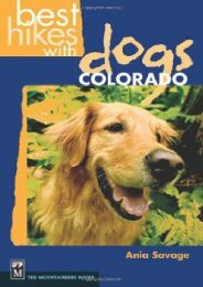 Best Hikes with Dogs Colorado