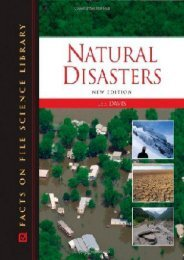 Natural Disasters (Facts on File Science Library)