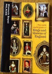 The Really Useful Guide to Kings and Queens of England