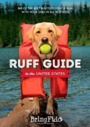 Ruff Guide to the United States: 365 of the BEST places to stay and play with your dog in all 50 states