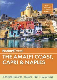 Fodor s The Amalfi Coast, Capri   Naples (Full-color Travel Guide)
