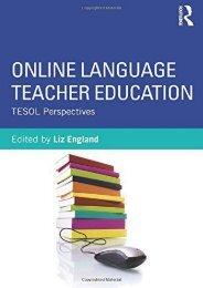 Online Language Teacher Education