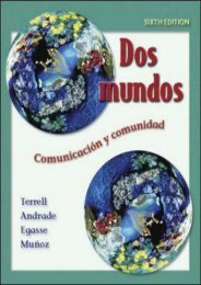 Dos mundos Student Edition with Online Learning Center Bind-in Passcode (McGraw-Hill World Languages)