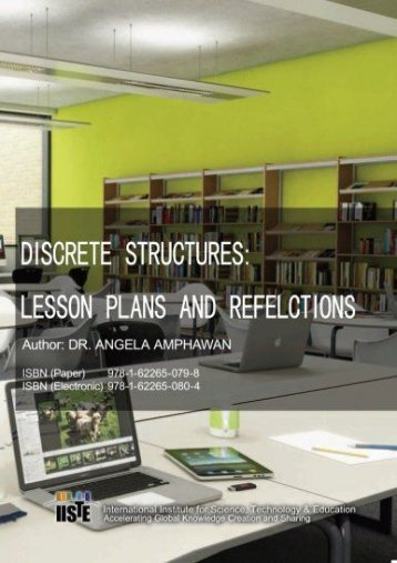 Discrete Structures:  Lesson Plans And Refelctions