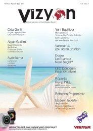 7.Vizyon Dergisi Temmuz-Ağustos-Eylül-2016