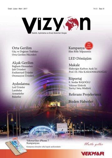 9.Vizyon Dergisi Ocak-Şubat-Mart-2017