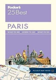 Fodor s Paris 25 Best (Full-color Travel Guide)