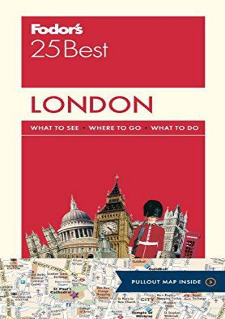 3rd Edition Fodors Around London with Kids