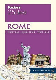Fodor s Rome 25 Best (Full-color Travel Guide)