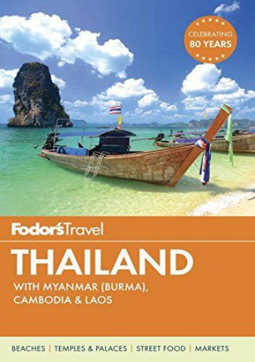 Fodor s Thailand: with Myanmar (Burma), Cambodia   Laos (Full-color Travel Guide)