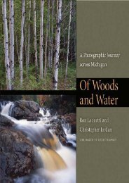 Of Woods and Water: A Photographic Journey across Michigan (Quarry Books)