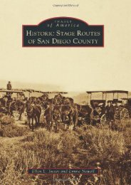 Historic Stage Routes of San Diego County (Images of America)