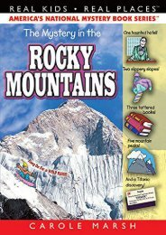 The Mystery in the Rocky Mountains (13) (Real Kids Real Places)