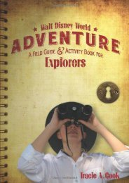 Walt Disney World Adventure: A Field Guide and Activity Book for Explorers