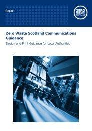 Design and Print Guidance - Zero Waste Scotland