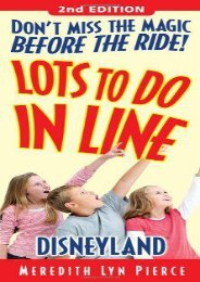 Lots To Do In Line Disneyland, 2nd edition