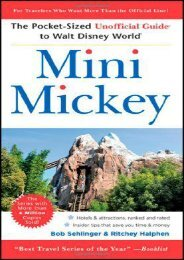 Mini Mickey: The Pocket-Sized Unofficial Guide to  Walt Disney World (Unofficial Guides)