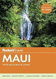 Fodor s Maui: with Molokai   Lanai (Full-color Travel Guide)